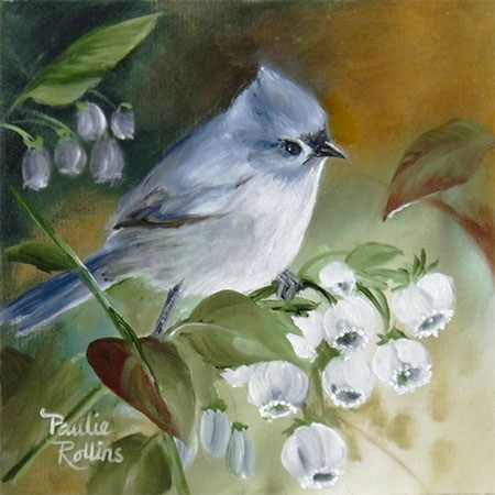 """Blueberry Hatchery"" original fine art by Paulie Rollins"