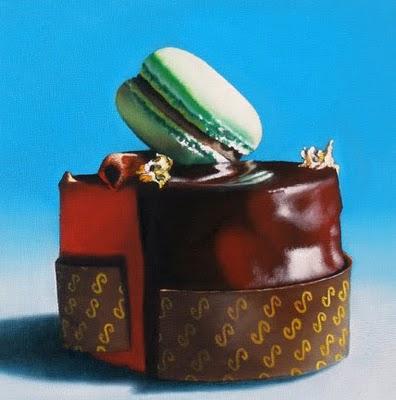 """Imperial Dessert Study"" original fine art by Jelaine Faunce"