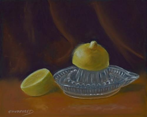 """Lemon Squeeze"" original fine art by James Humphreys"