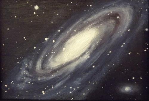 """Andromeda"" original fine art by Amy VanGaasbeck"