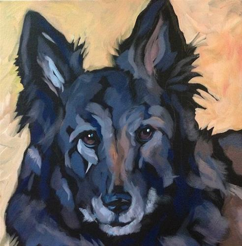 """Timber"" original fine art by Kat Corrigan"