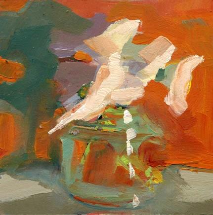 """1464 8A"" original fine art by Lisa Daria"
