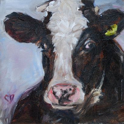 """Bessie"" original fine art by Carol DeMumbrum"