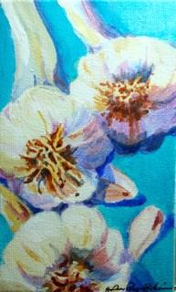 """Cool Bulbs"" original fine art by JoAnne Perez Robinson"
