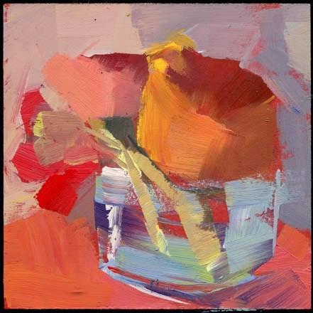 """""""2166 look rustic"""" original fine art by Lisa Daria"""