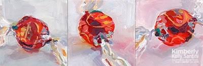 """Truffles"" original fine art by Kimberly Santini"