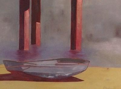 """Balboa Island Resident"" original fine art by Janet Bludau"