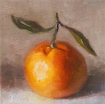"""Mandarin"" original fine art by Cindy Haase"