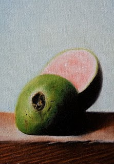 """""""Guava"""" original fine art by Jonathan Aller"""