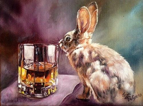 """""""Hop Scotch by Joye DeGoede"""" original fine art by Joye DeGoede"""