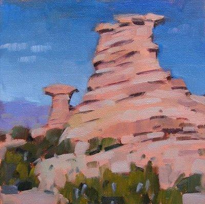 """Reservation Rocks & Afternoon Light --- n/a"" original fine art by Carol Marine"