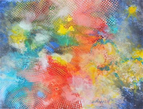 """Creation"" original fine art by Becky Chappell"