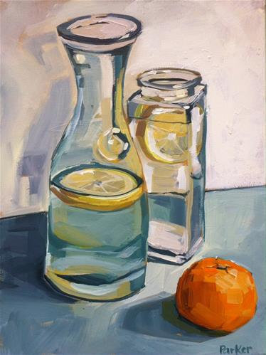 """Real Hydration"" original fine art by Teddi Parker"