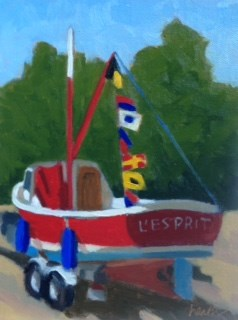 """L'Esprit"" original fine art by Bobbi Heath"