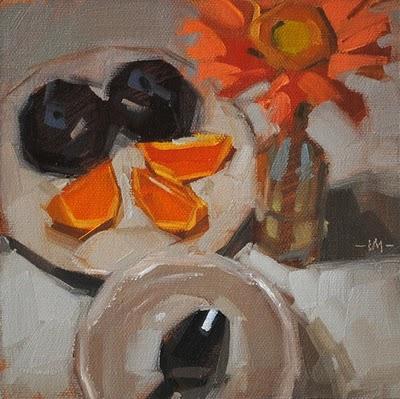 """Sunny Face"" original fine art by Carol Marine"