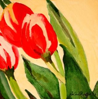 """""""Wednesdays Tulips"""" original fine art by JoAnne Perez Robinson"""