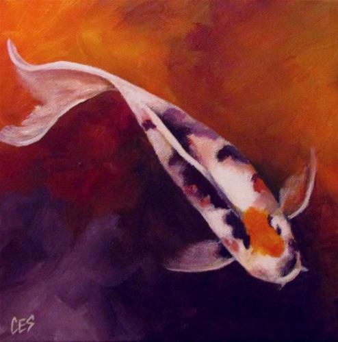 """""""Circling Back"""" original fine art by ~ces~ Christine E. S. Code"""