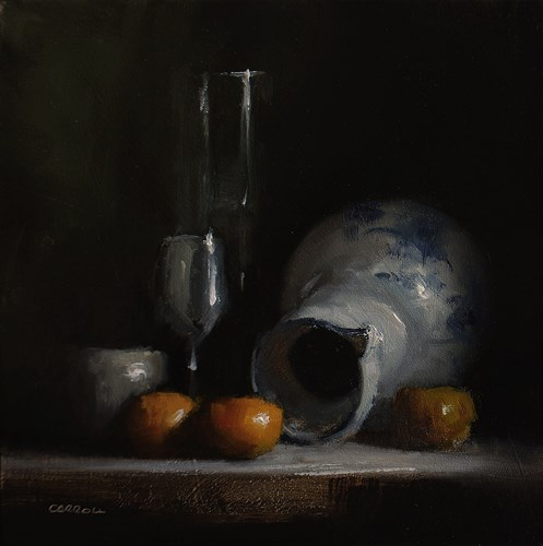 """Arrangement with Jug"" original fine art by Neil Carroll"