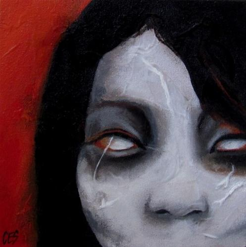 """Scars"" original fine art by ~ces~ Christine E. S. Code"