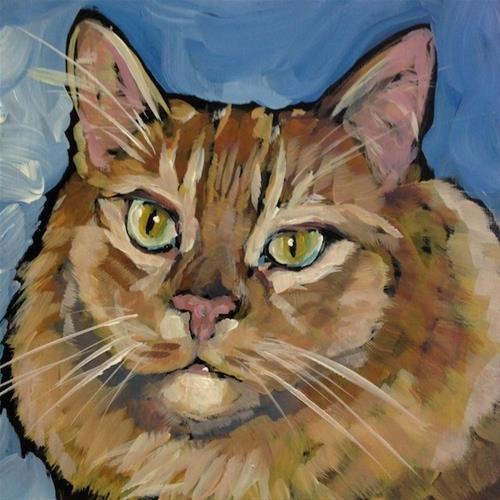 """""""Hank, March 6"""" original fine art by Kat Corrigan"""