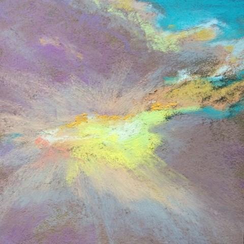 """Migraine Morning"" original fine art by Cindy Gillett"