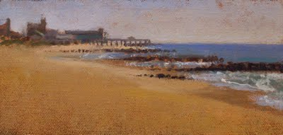 """Towards Asbury Park"" original fine art by Abbey Ryan"