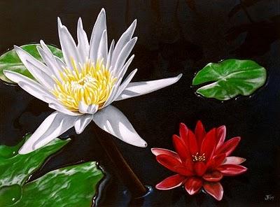 """""""San Juan Lilies"""" original fine art by Jelaine Faunce"""