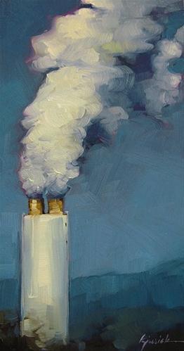 """""""Billows"""" original fine art by Karin Jurick"""