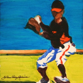 """Getting Loose"" original fine art by JoAnne Perez Robinson"