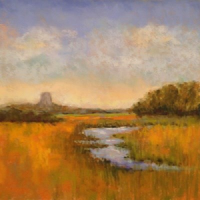 """Day 10 Devils Tower"" original fine art by Angeli Petrocco Coover"