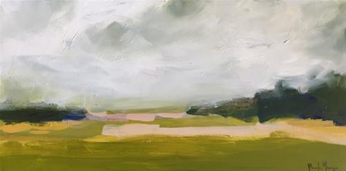 """""""knoll"""" original fine art by Pamela Munger"""