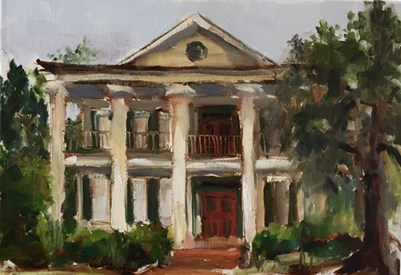 """The Old Home Place"" original fine art by Marcia Hodges"