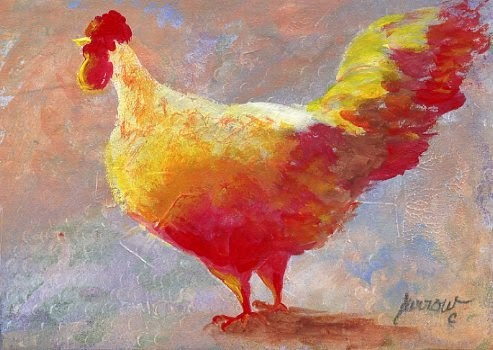 """New Chick and Douthat State Park"" original fine art by Sue Furrow"