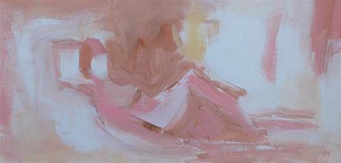 """Leisure"" original fine art by Pamela Munger"