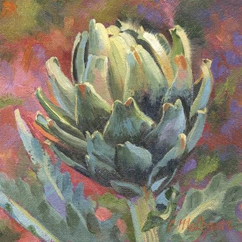 """""""All Choked Up"""" original fine art by Connie McLennan"""