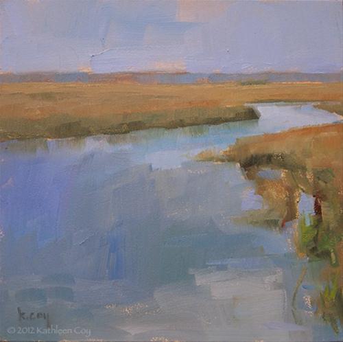 """Lowcountry Marsh"" original fine art by Kathleen Coy"