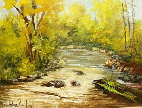 """""""San Juan River II"""" original fine art by Barbara Haviland"""