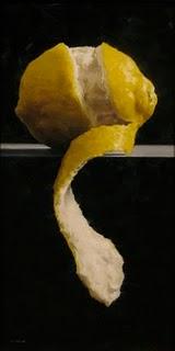 """Hanging Peel"" original fine art by Michael Naples"