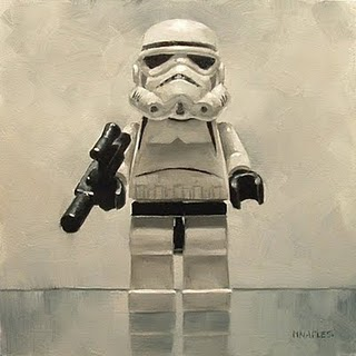 """Storm Trooper"" original fine art by Michael Naples"