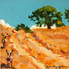 """The Path"" original fine art by JoAnne Perez Robinson"
