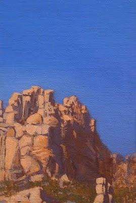 """""""Mount Lemmon"""" original fine art by Abbey Ryan"""