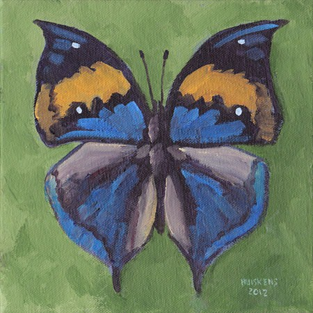 """Butterfly No. 13"" original fine art by Randal Huiskens"