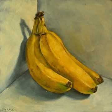 """Bananas"" original fine art by Michael Naples"
