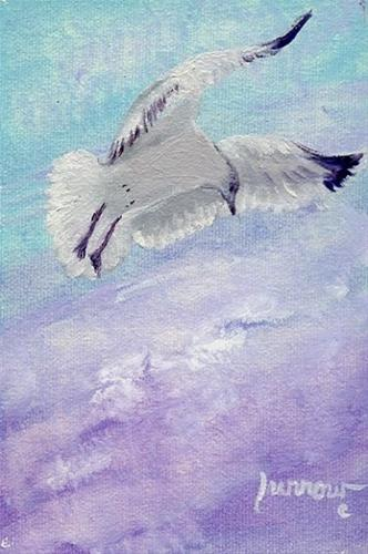 """Day 25  Hovering #3"" original fine art by Sue Furrow"