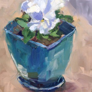 """""""Day 2 of 30 paintings in 30 Days"""" original fine art by Melissa Jander"""