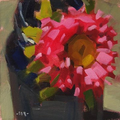 """My Closeup"" original fine art by Carol Marine"