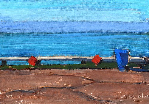 """A Sea Scene"" original fine art by Kevin Inman"