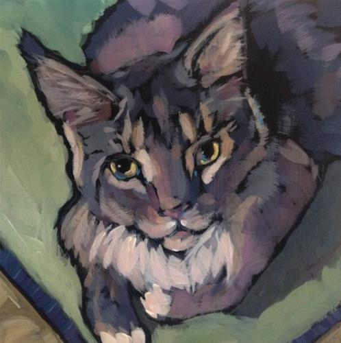 """""""March 13, Jasmine!"""" original fine art by Kat Corrigan"""