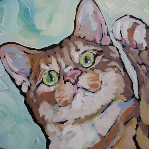 """Milo Again"" original fine art by Kat Corrigan"