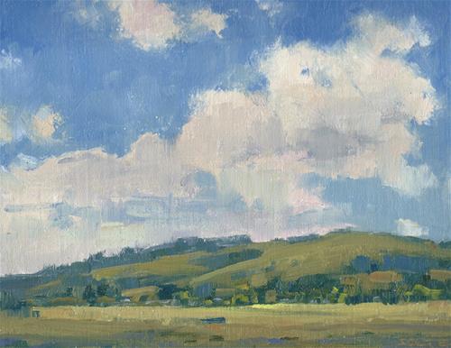 """On a Spring day"" original fine art by J. Thomas soltesz"